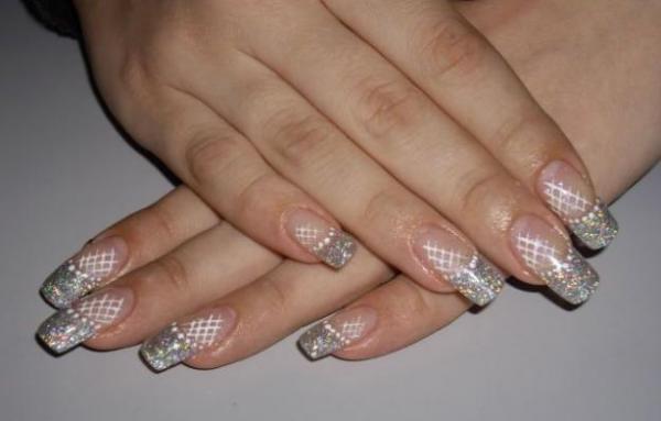 Видео урок дизайн гелевых ногтей