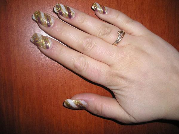 наращивание ногтей верхними формами видеоуроки